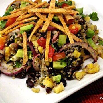 Mexican-Flavored Quinoa-Salad
