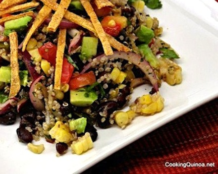 Mexican-Flavored Quinoa Salad