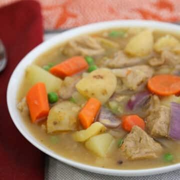 Seitan and Potato Stew