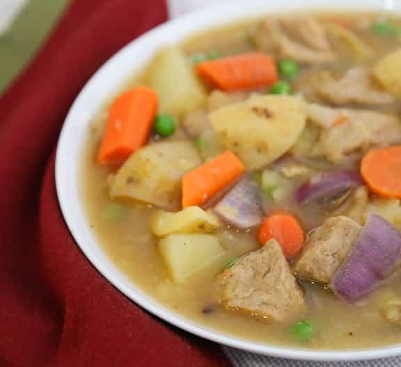 Seitan and Potato Stew recipe