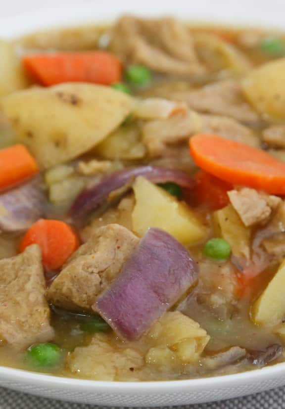 Hearty Seitan and Potato Stew