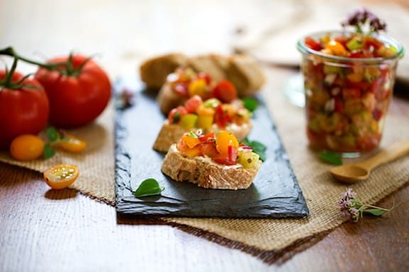 Tomato and corn salad recipe