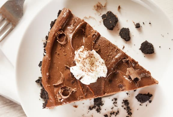 vegan chocolate mousse pie recipe