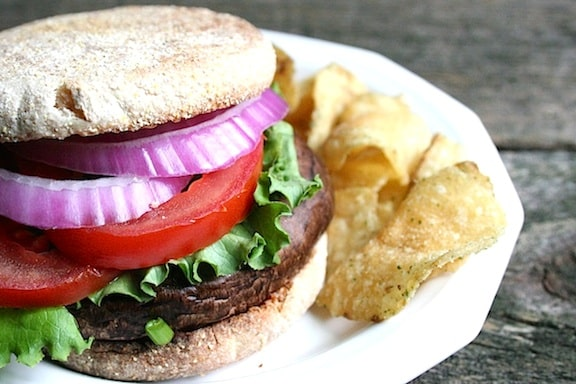 Easy Portobella Burgers recipe