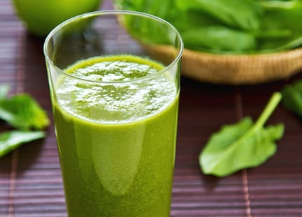 Spinach and apple smoothie recipe