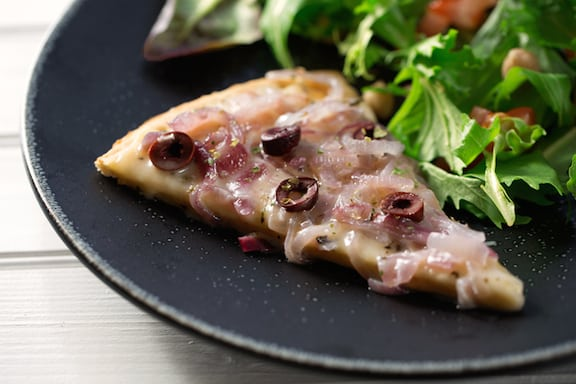 Two-onion pizza