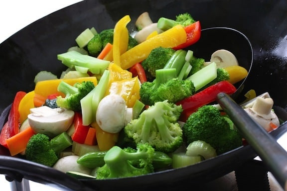 vegetable stir fry recipe mixed vegetable stir fry buddhist s delight 29838