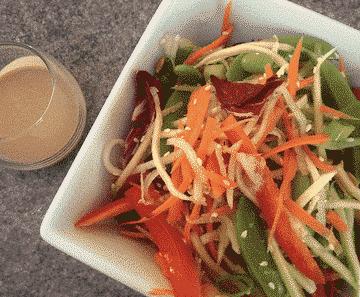 Green Ribbon Salad