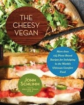 Cheesy vegan by john schlimm