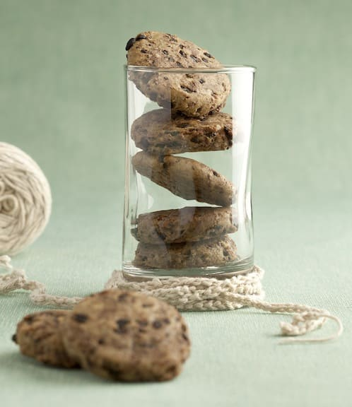 Chocolate Flecked Pumpkin Seed Cookies Ricki Heller