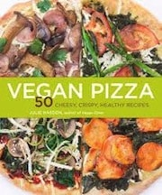 vegan pizza by julie has son