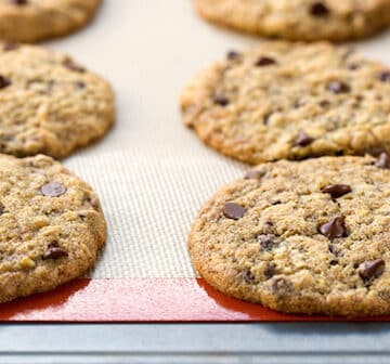 low-fat vegan chocolate chip cookies