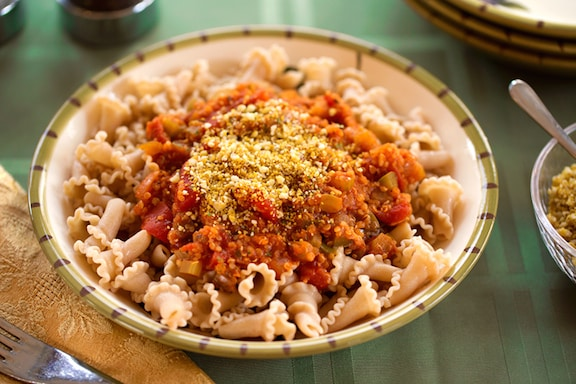 Vegan Pasta Bolognese