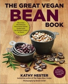 great vegan bean book by kathy hester
