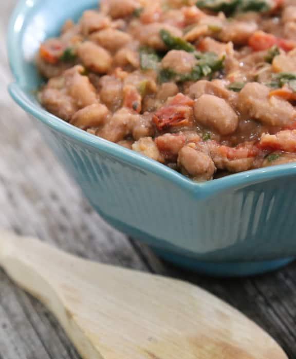 Beer-Stewed Pinto Beans (frijoles borrachos) recipe