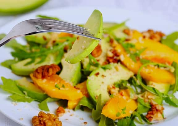 Mango avocado salad recipe