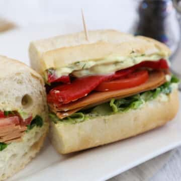 Veggie Deli Hero Sandwich