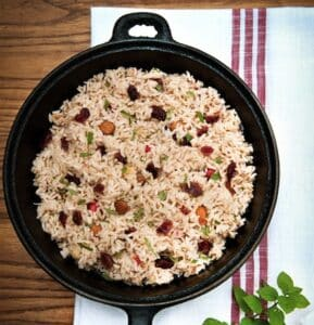 cranberry-rice-pilaf by leslie cerier