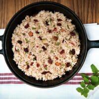 cranberry rice pilaf by leslie cerier