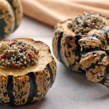 kasha-stuffed-squash by leslie cerier