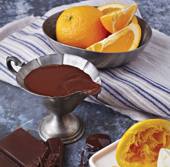 Chocolate Orange Glaze