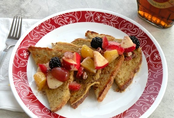 Easy vegan french toast recipe