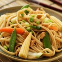 Hoisin-flavored Asian Noodles