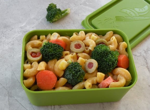Lunch box pasta 2