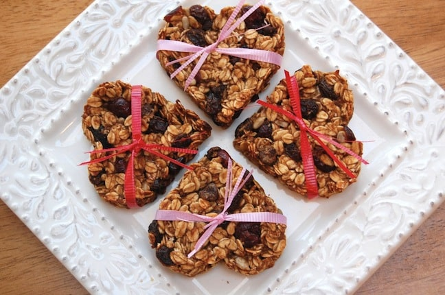 Heart Almond Granola Bars
