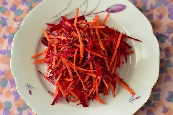 Grated Beet and Carrot salad recipe