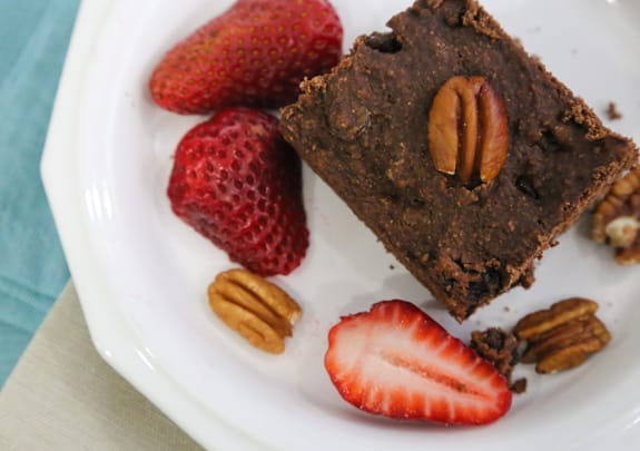 Vegan Brownie Cake