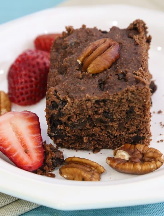 Vegan chocolate brownie cake recipe
