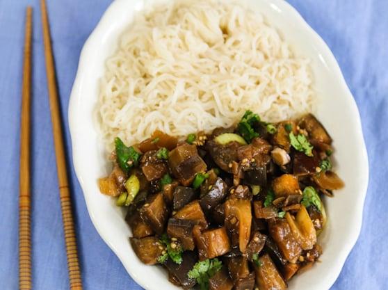 Szechuan-Style Eggplant recipe