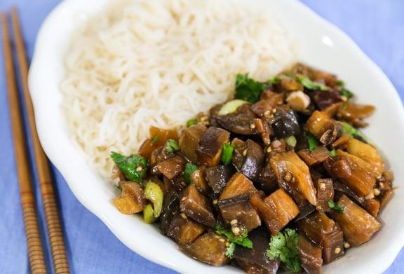 Szechuan-Style Eggplant