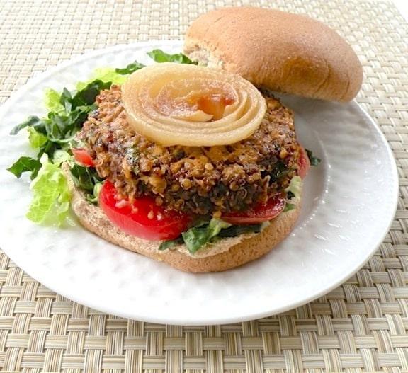 Quinoa burger2