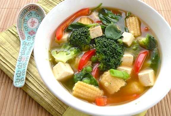 vegetable Tofu soup