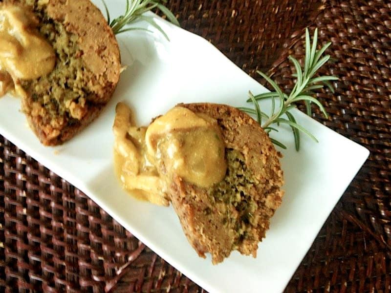 Vegan Roast with Shiitake and Kale Filling