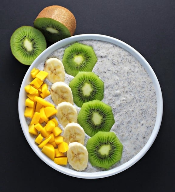 Chia seed breakfast pudding recipe