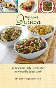 Quinoa pdf e-book cover - VegKitchen