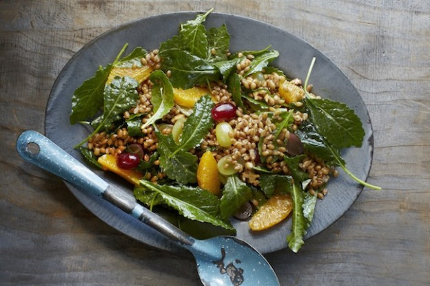 Straight from the Earth_Wheat Berry Salad