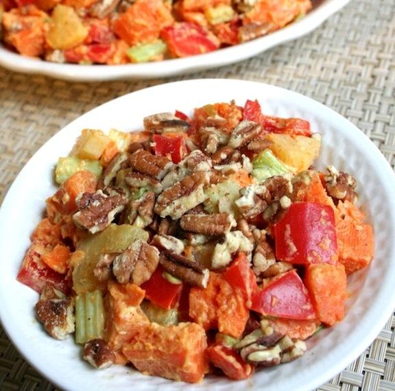 sweet potato salad recipe with pecans