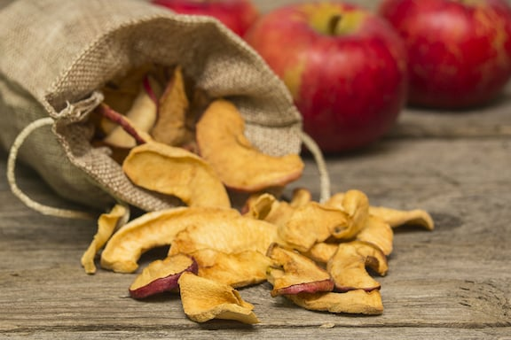 Cinnamon dried apples recipe