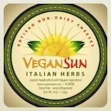 Sunrawise Italian Herb vegan cheese