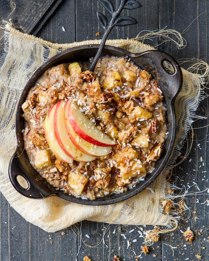 Apple Oatmeal from Angela Liddon Oh She Glows