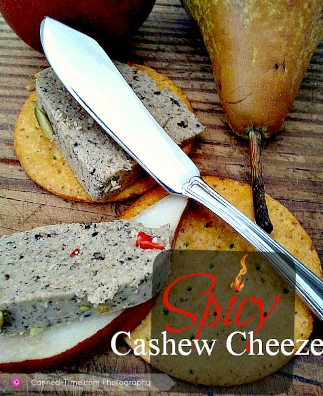 Spicy Cashew Cheeze Angela McKee of Canned-Time.com