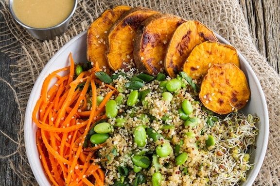 Enlightened Miso Bowl by Angela Liddon from Oh She Glows