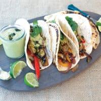 Portobello Fajitas by Zsu Dever from Everyday Vegan Eats