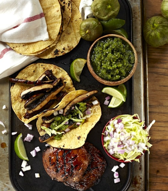 Portobello Mushroom Tacos  from Forks Over Knives