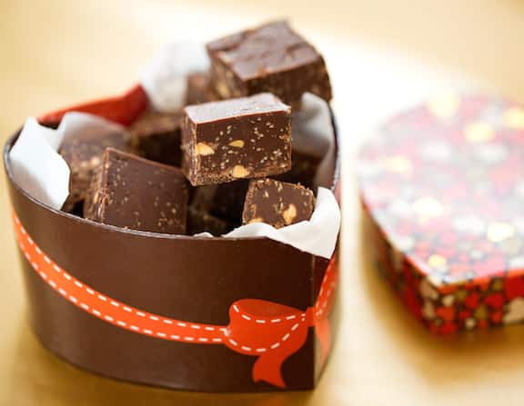 Vegan chocolate omega fudge