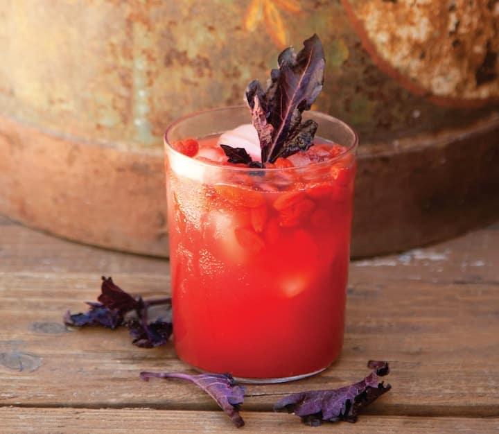 Watermelon Goji Berry Juice